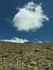 Mt Dana shows up, steep ascent