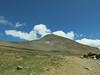Mt Dana plateau and windblock on right