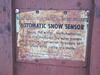 - Automatic Snow Sensor