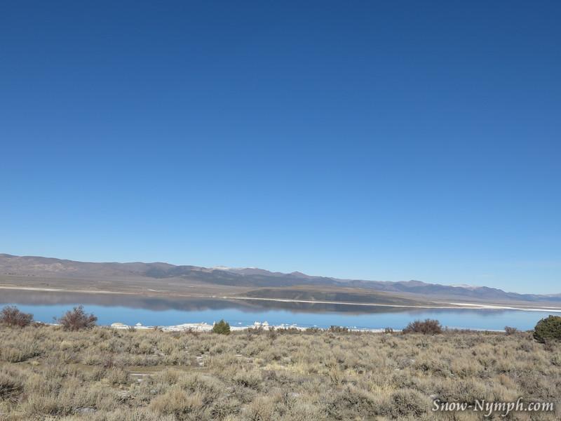 Mono Lake on the way to Virginia Lake