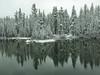 Nice reflections on Lake Mamie - walked around Lake Mary and back to Lake Mamie
