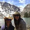 Cori and Paige at Parker Lake