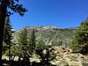 Peaks on the way to Secret Lake