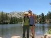 June 21, 2016  Cori and Paige at Secret Lake