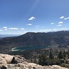 View from top - White Mtns, June Lk, Mammoth area peaks