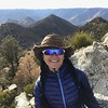 2017-11-06    Windy on the Morris Peak!  7,215'