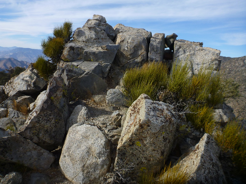 Morris Peak summit