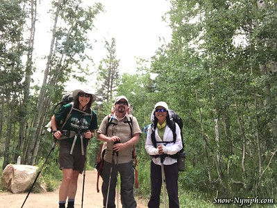 2018-07-10  Day 1 of 9  Backpack from North Lake to Pine Creek RE