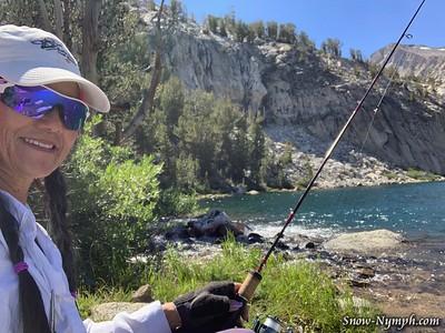 2019-08 (15-17)  Solo Backpack - North Lake to Lamarck Lakes