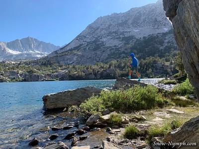 2019-08-28  Long Lake hike and fish