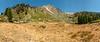 Groundhog Meadow - Sawtooth Peak View panorama, August 27, 2009.
