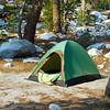 My tent at Buena Vista Lake