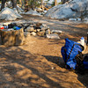 My camp at Buena Vista Lake