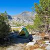 My camp at Ireland Lake