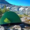 My tent at Ireland Lake