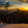 Sunset at Panther Gap