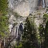 Yosemite Falls From Lower Yosemite Falls