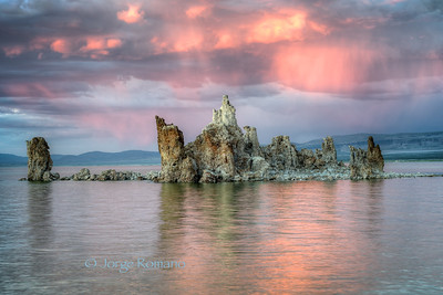 Tufa with Clouds