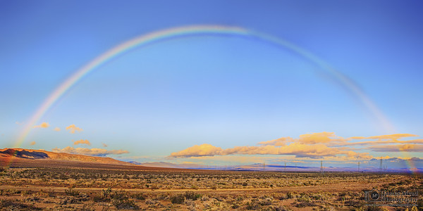 """Mojave Rainbow,"" Mojave, California"