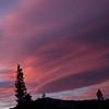 Lenticular Clouds, Sunset