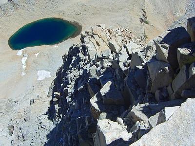 Birds-eye View of Iceberg Lake