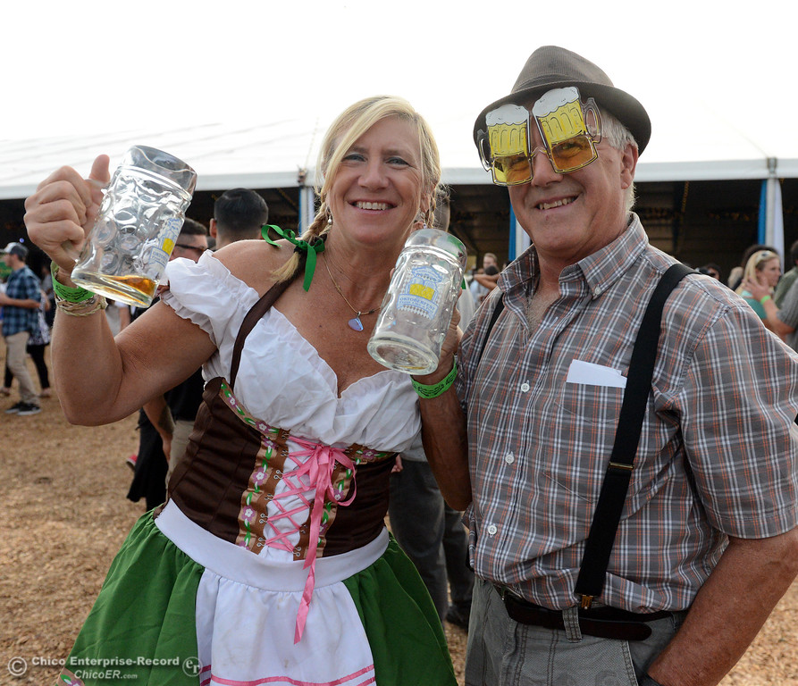 . Sierra Nevada Brewing Co. holds its first of four Oktoberfest celebrations Friday, Sept. 29, 2017, in Chico, California. (Dan Reidel -- Enterprise-Record)
