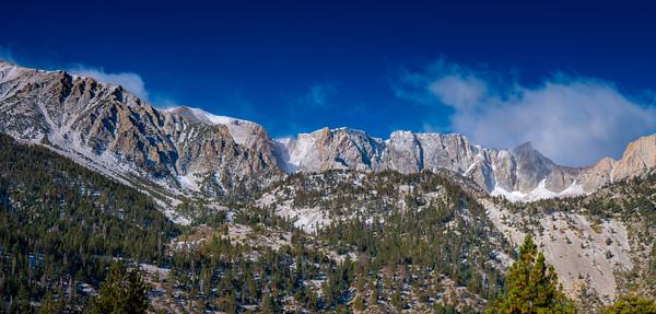 Tioga Pass Area after Fresh Snowfall