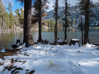Fresh Snow, Woods Lake, Carson Pass