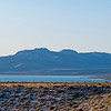 Panorama of Mono Lake on a Snowy Fall Morning