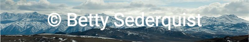 Sierra Nevada Range as Seen from Near Bodie
