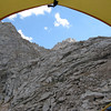 View of LeConte from my tent  (on right)
