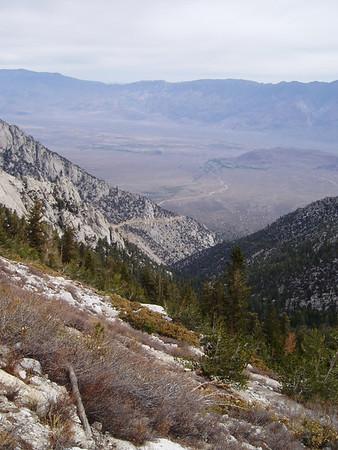 Lone Pine Peak attempt, 4/7-8/2007