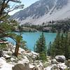 Looking down at First Lake