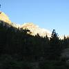 Peaks at the trailhead