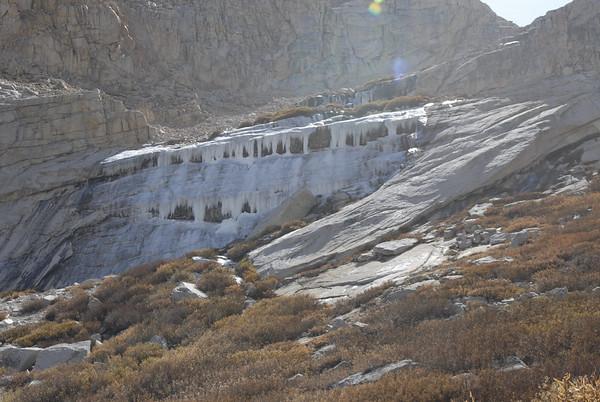 Whitney Falls already looks thick enough to climb