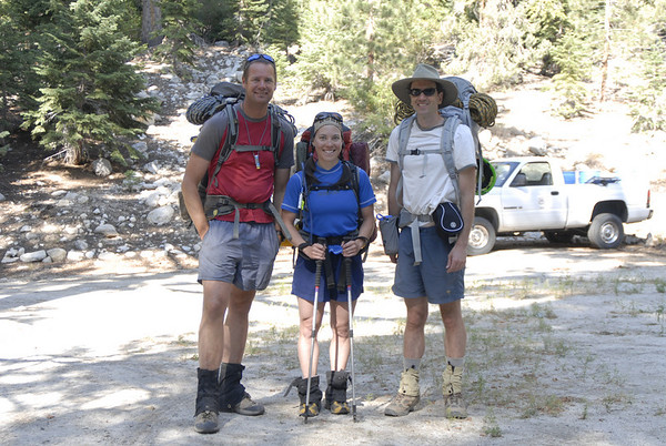 Kurt, Eileen, Andy at Whitney Portal