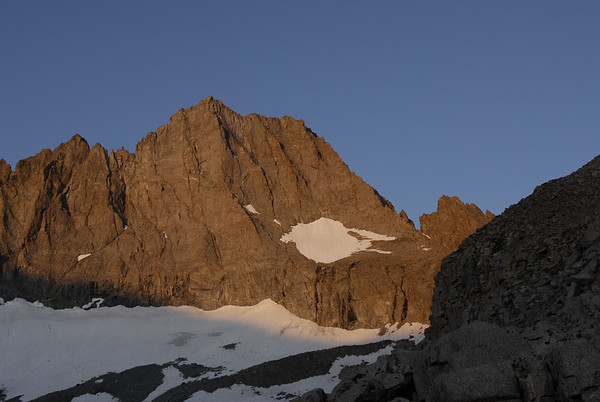 Sunrise of Norman Clyde Peak