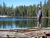 Fishing at Duck lake
