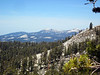 View north over the Dinkey lakes Wilderness,as we enjoy a day hike to Crown Ridge