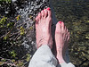 My foor bath in Duck Lake