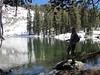 Donn fishing at Top Chain Lake.
