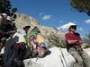 Resting at Hawksbeak Pass