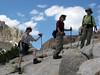 Starting up Hawksbeak Peak
