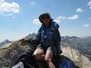 Vicky on top of Hawksbeak Peak