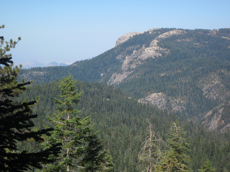 That's Bgb Baldy seen from the Little Baldy trail