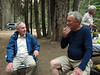"""Old timers'"" campfire--Jerry Keating and Ret Moore"