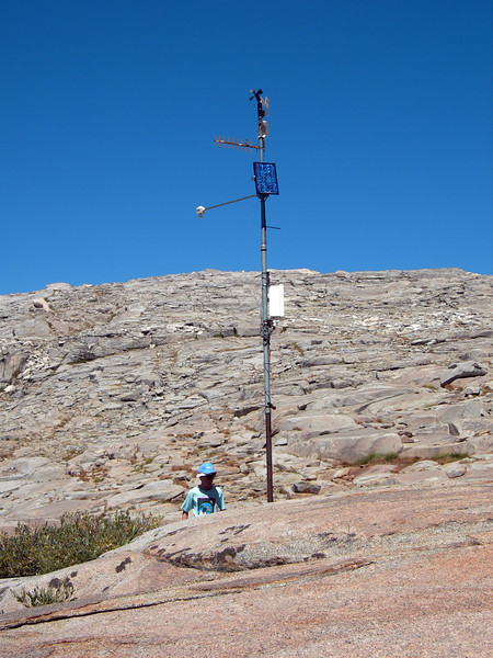 weather station disrupts wildness