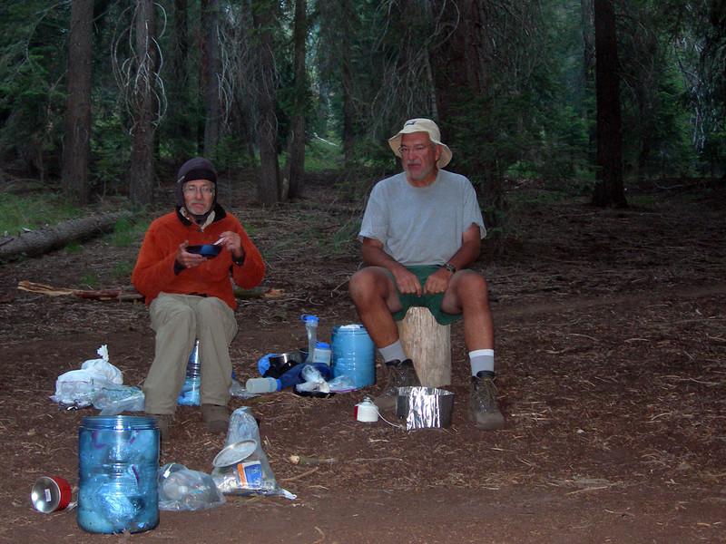 Last morning: Bearpaw Meadow breaksfast