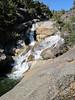 Waterfalls above us