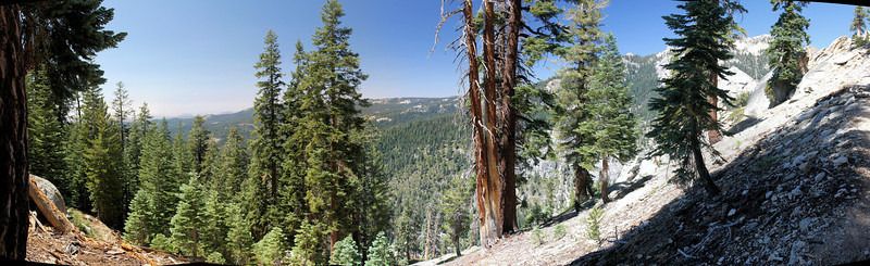 Aug 2009 3 day solo backpacking trip in Sequoia National Park